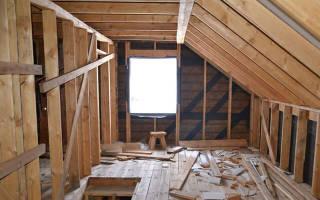 Как правильно сделать стропила для мансардной крыши