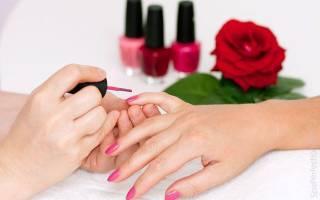 Правильно наносить покрытие ногти