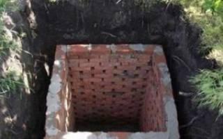 Как правильно сделать сливную яму