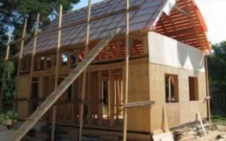 Как правильно сделать крышу каркасном доме