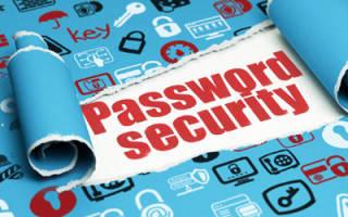 Как правильно выбрать пароль
