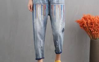 Как правильно делать дырки на джинсах