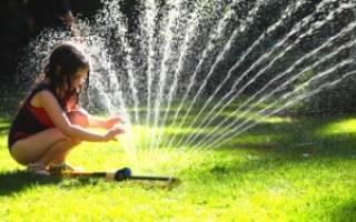 Как правильно выбрать распылитель воды для участка
