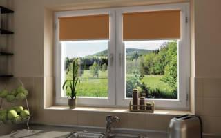 Как правильно установить рулонные шторы