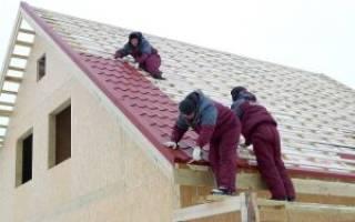 Как правильно сделать крышу из металлочерепицы видео