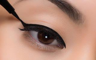 Как правильно наносить стрелки на глаза