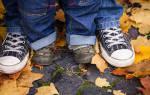 Как правильно выбрать размер детской обуви