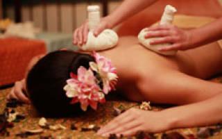 Видео как правильно делать тайский массаж
